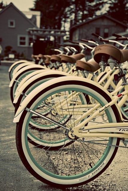 bicycles, bikes, cute, old school, vintage