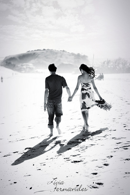 black and white, couple, holding hands, love - image ...