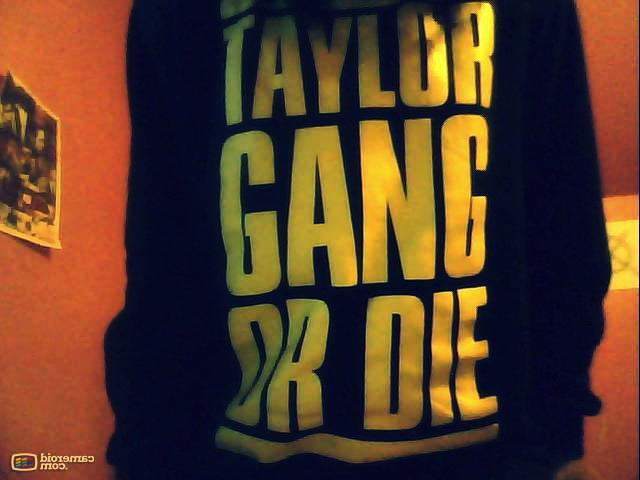 black and yellow, cool, sweatshirt, taylor gang, taylor gang or die