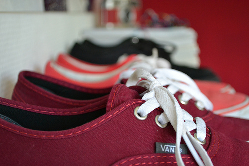 black, brand, fashion, footwear, pink, red, shoes, style, vans, want
