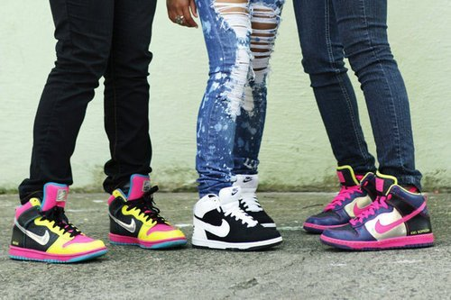 Nike Shoes High Tops for Girls