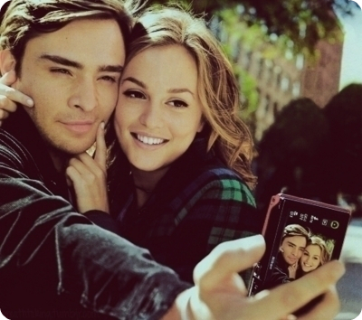 blair, chuck, couple, cute, gossip girl
