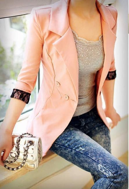 blazer, fashion, girl, trendy
