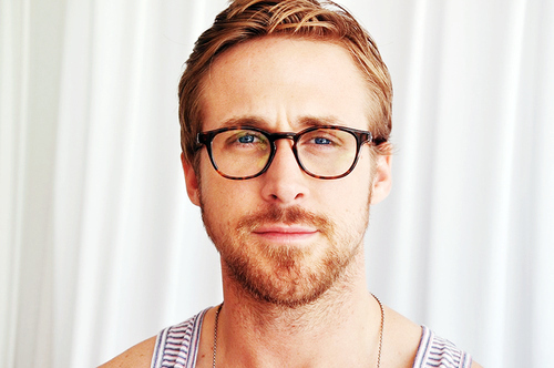 blonde, boy, cool, cute, glasses, guy, hot, ryan gosling, sexy, sweet