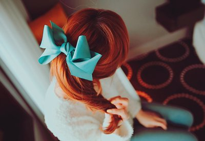 blouse, blue, bow, cute, fashion, flower, girl, girly, glitter, kiss, lips, love, paradise, peace, pink, redhead, skirt, style