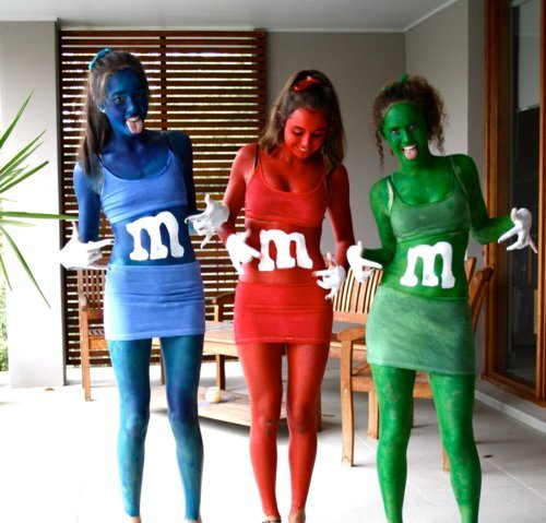 blue, cool, funny, girls, green, haha, hair, lol, mmm, red