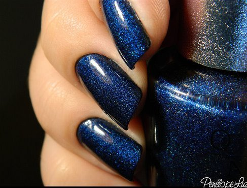 blue, fashion, fingers, hand, manicure