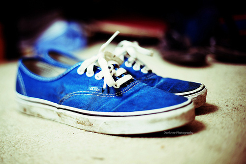 blue photo shoes vans image 299695 on favimcom