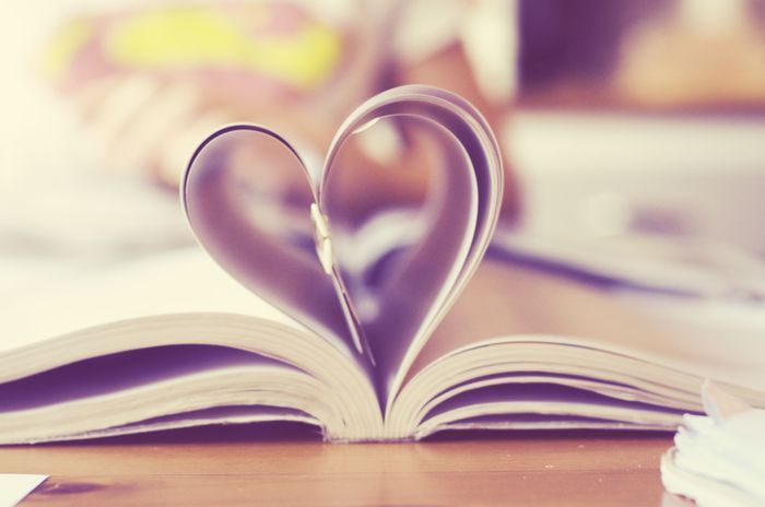 book, cute, heart, love, soft