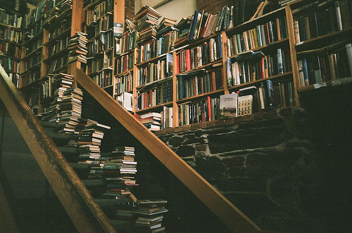 book store, books, books store, library, photography, vintage