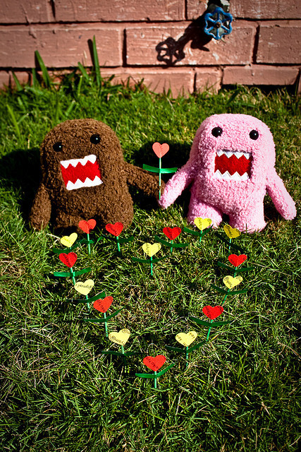 bown, cartoon, character, cute, domo