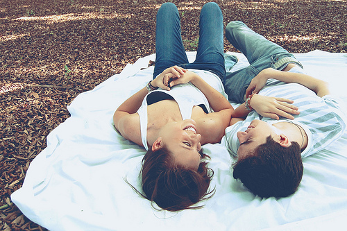 boy, boyfriends, cute, girl, laying