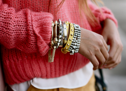 bracelets, cute, fashion, girly, jewelry