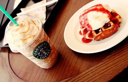 breakfast, coffee, cute, fashion, gnam, lovely, photo, smile, starbucks, wow