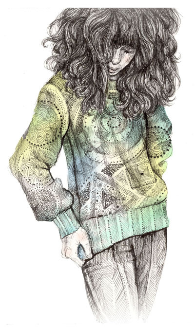 brett manning, drawing, fashion, girl, illustration