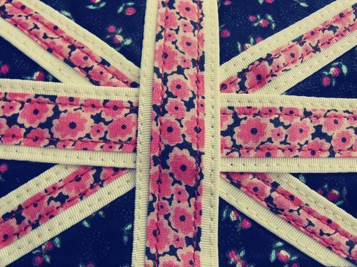 brittish cute england flag flowers image 304388 on