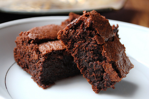 brownie, cake, candy, chocolate, delicious