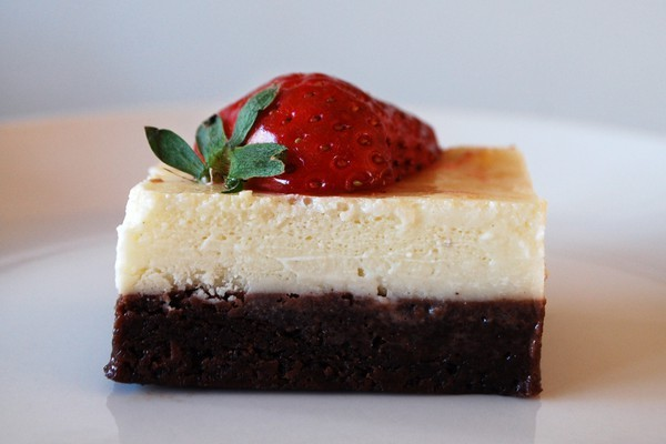 brownie, cake, cheesecake, chocolate, food, strawberry