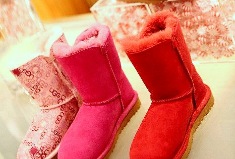 candies, colours, fashion, pink, red, shoes, ugg, uggs, winter