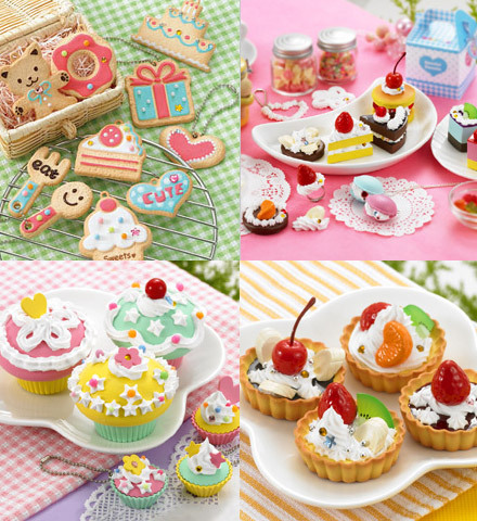 chocolate cake, colorful food, cookies, cupcake, cute