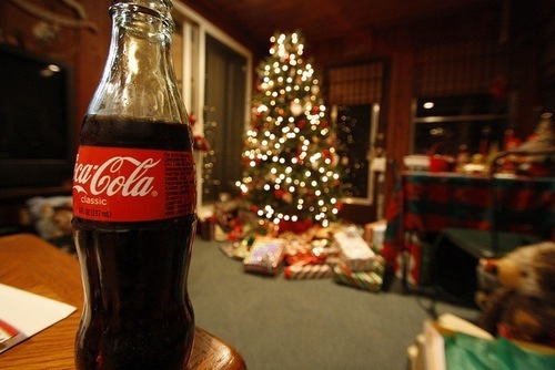 christmas, christmas tree, coca cola, coca-cola, holidays, presents