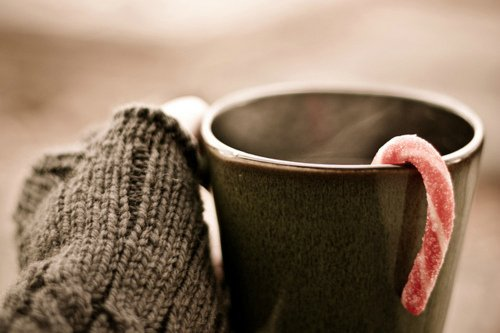 christmas, coffee, coffee cup, cute, winter