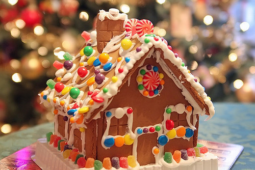 christmas, colour, cute, food, gingerbread