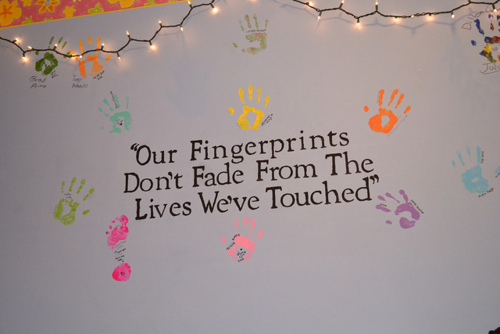colorful, fingerprints, life, quotes, text