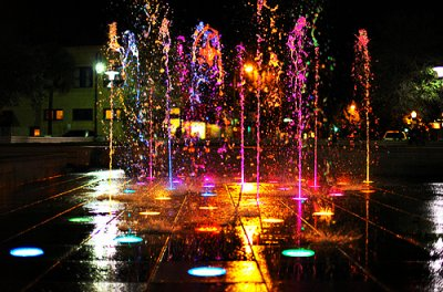 colour, lights, neon, splash, squirt, water, wow