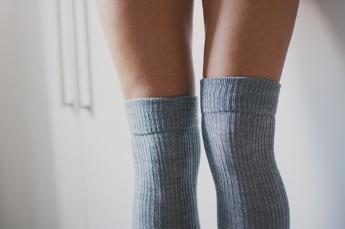 cute, fashion, girl, grey, legs, pretty, skinny, socks, stockings, vintage