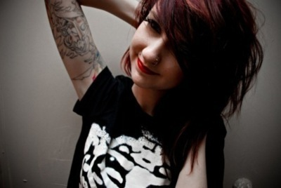 cute, girl, hair, photograph, piercing