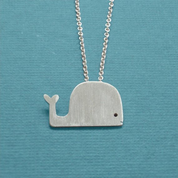 cute, necklace, sweet, whale