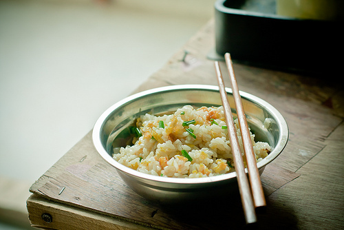 delicious, fired rice, food, japan, lomo, rice, stick, vintage, yum, yummy