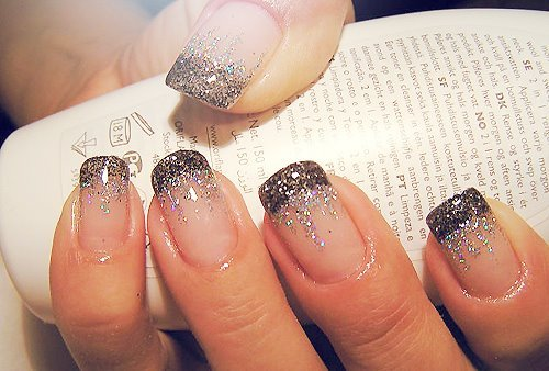 design, fashion, nails, silver, style