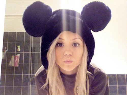 disney, girl, micky, mouse, that hat looks comfy