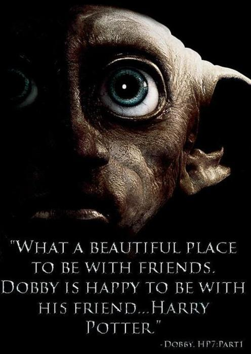dobby, elf, harry potter, sad