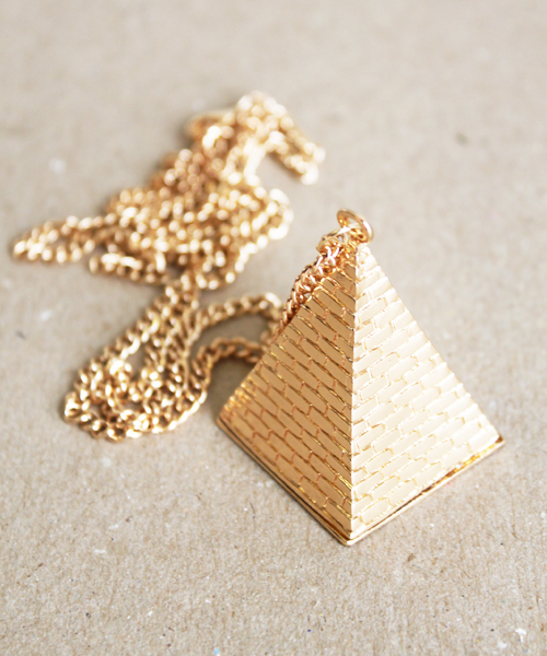 egypt, fashion, gold, jewelery, luxury, neckless, piramid, triangle