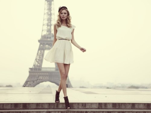 eiffel tower, enjoy, girl, life, live