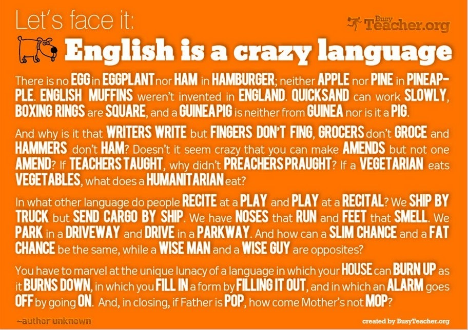 english, funny, orange, true, words