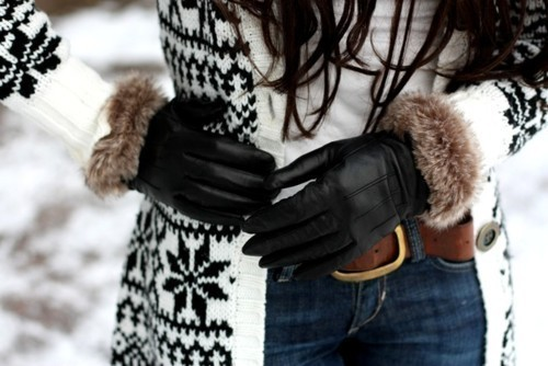 ��� ����� ��� - ����� ������ fashion-gloves-leath