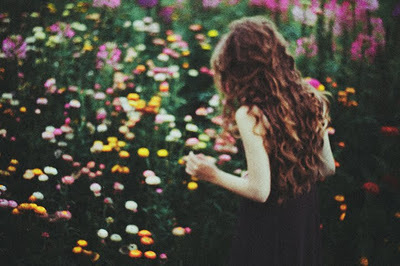 feel, garden, girl, hair, life rocks