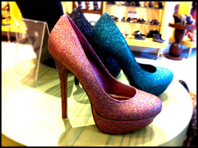 heels, high, shoes, sparkling