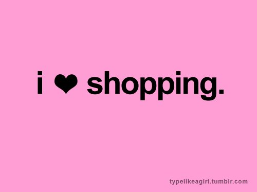 i love shopping, love, pink, shoes, shopping