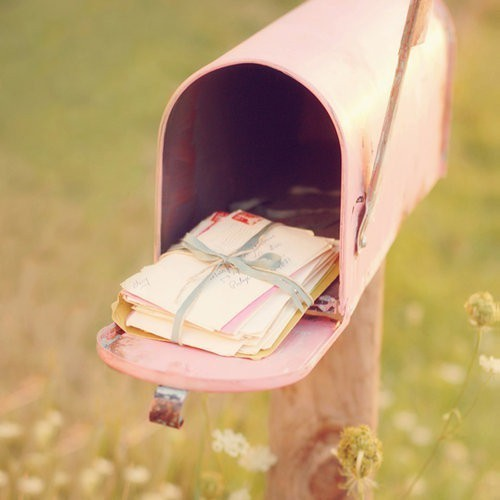 letter, letters, mail, pink, sights
