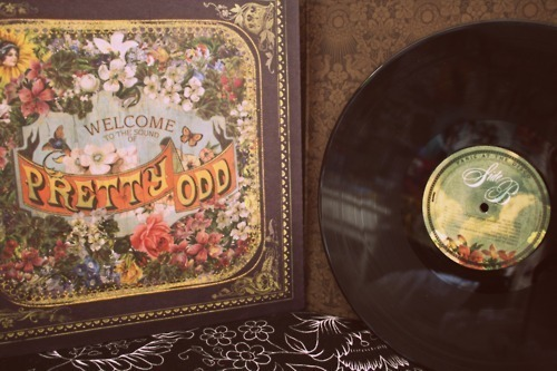 music, old, panic at the disco, photography, record
