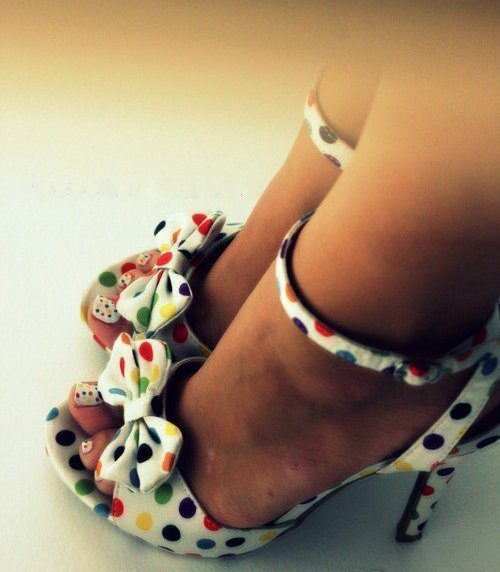 nails, pretty, shoes, spots